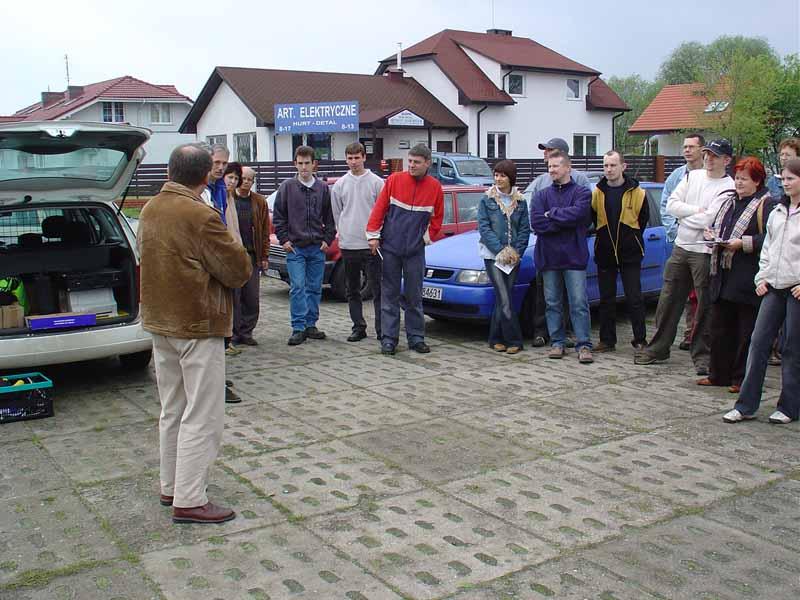 WIOSNA 2005 I Runda Popularnych Samochodowych Mistrzostw Okręgu Luboń - Dębienko -