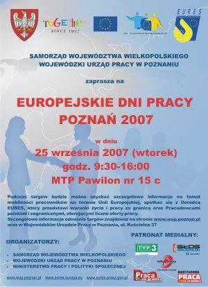 Europejskie Dni Pracy Poznań 2007 -