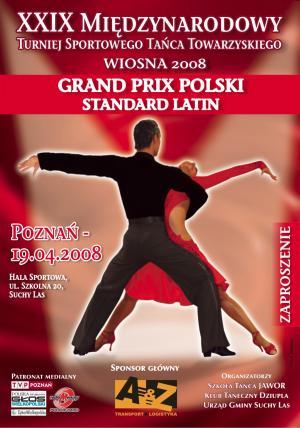 XXIX Międzynarodowy Turniej Tańca Sportowego WIOSNA 2008.  -