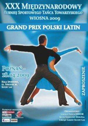 Zapraszamy na XXX Międzynarodowy Turniej Tańca Sportowego WIOSNA 2009. -